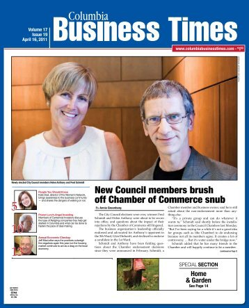 New Council members brush off Chamber of Commerce - Columbia ...