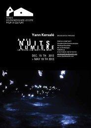 Yann Kersalé - Fonds Leclerc pour la Culture