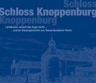 Download der Broschüre (1,8 MB) - Schloss Knoppenburg