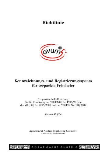 """""""ovum"""" Richtlinie - AMA-Marketing"""