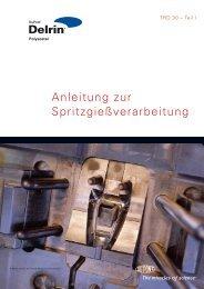 Delrin Anleitung zur Spritzgießverarbeitung - Plastics, Polymers, and ...
