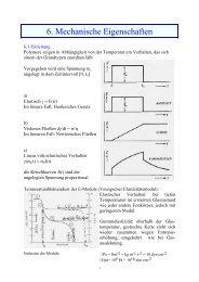 6. Mechanische Eigenschaften - E13