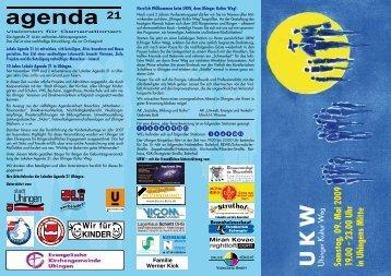 Samstag, 09. Mai 2009 19.00 - 23.00 Uhr in ... - Stadt Uhingen