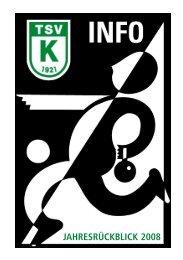 Vorstandschaft des TSV Kiebingen