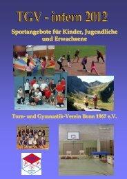 TGV-intern 2012 (PDF-Datei) - Turn- und Gymnastik-Verein Bonn ...