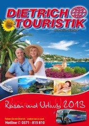 Katalog 2013 Deutschland - PDF - Dietrich-Touristik