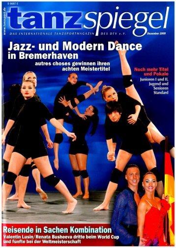 Tanzspiegel Ausgabe Dezember 2009 - Renes Welt