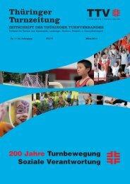 März 2011 - Thüringer Turnverband eV