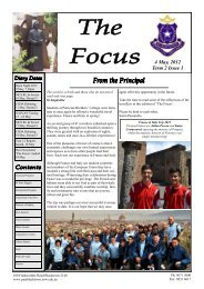 THE GREEN SASH VOL 7 ISSUE 1 MARCH - Patrician Brothers