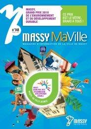 Massy Ma Ville - n° 148 - Juillet 2010