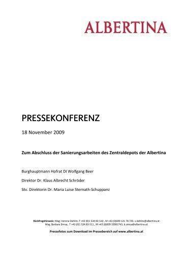 Pressetext - Albertina