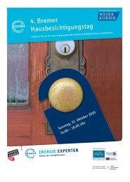 Beilage Hausbesichtigungstag (Weser-Kurier) - Bremer Energie ...
