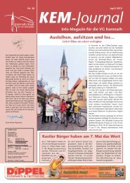 KEM-Journal - Stadt Kemnath