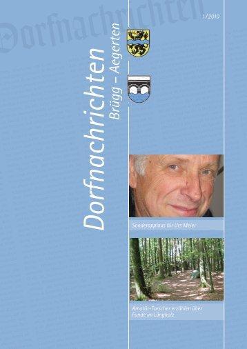 Dorfnachrichten März '10 (pdf 5 Mb) - Gemeinde Brügg