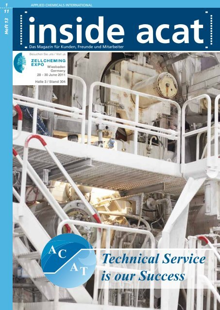 Technical Service is our Success - Applied Chemicals International ...
