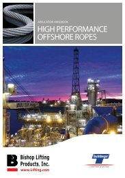 HIGH PERFORMANCE OFFSHORE ROPES