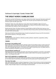 Gambling Seminar - English - Play the Game