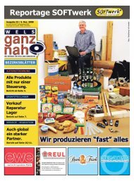 Reportage SOFTwerk - SOFTwerk Professional Automation GmbH