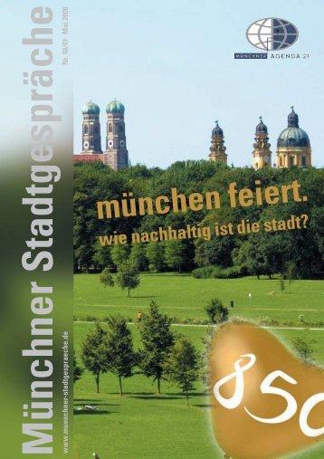 Münchner Stadtgespräche - Umweltinstitut München e.V.