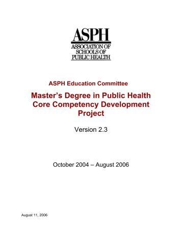 Public Health Degree