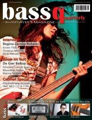 Interviews Bässe im Test Cabinet Special - De Gier Guitars & Basses