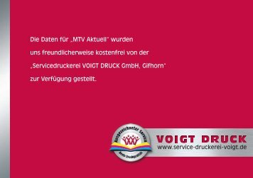 38536 Meinersen · Tel. 05372 - MTV Gifhorn