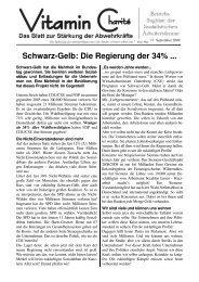 Schwarz-Gelb: Die Regierung der 34% - Sozialistische Arbeiterstimme
