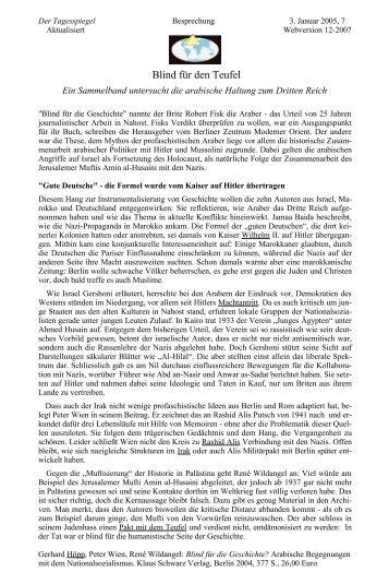 Blind für den Teufel - Trafo Verlag
