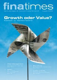 Growth oder Value? - Wertinvest