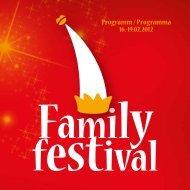 Il programma del Family Festival - Comune di Bolzano