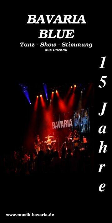 BAVARIA BLUE Tanz - Show - Stimmung