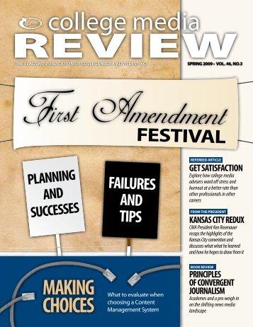 2009-Volume 46, No.3 - College Media Review
