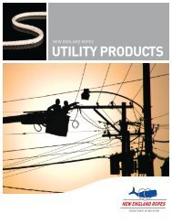 UTILITY PRODUCTS - New England Ropes