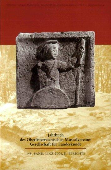 Jahrbuch des Oö. Musealvereins Gesellschaft für Landeskunde