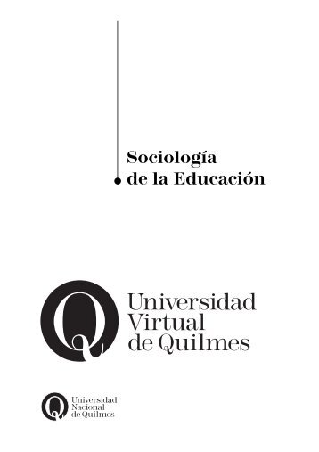 Sociología de la Educación - Colegio de la Loza