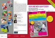 UND NEU-ULM ULM FEIERT! - KSM Verlag