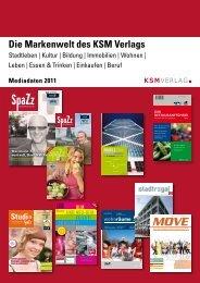 Die Markenwelt des KSM Verlags
