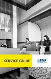SERVICE GUIDE - UC Davis | Conference and Event Services ...