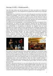 5. bis 9. April 2011 G² - Glaube mal - der evangelischen ...