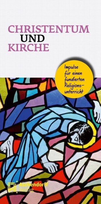 Sonderprospekt Christentum und Kirche - Aschendorff