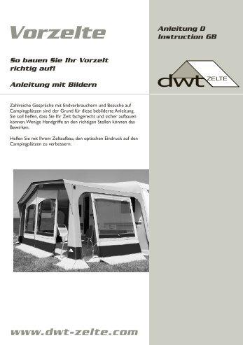 Vorzelt - dwt-Zelte