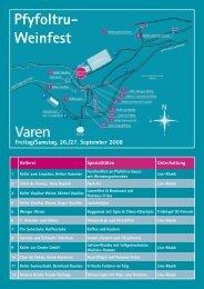 Pfyfoltru- Weinfest - Turnverein STV Schwyz