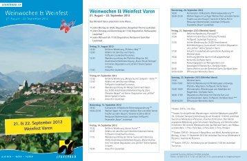 Flyer Weinfest_2012_Final.indd - Varen