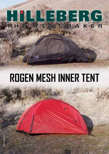 Rogen Mesh Inner Tent with a Hilleberg