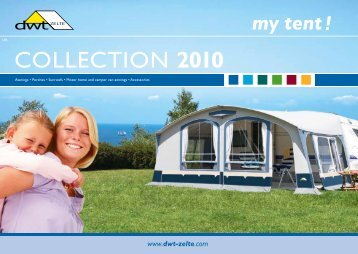 COLLECTION 2010 - dwt-Zelte