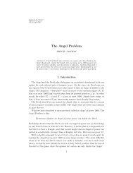 The Angel Problem - Institut für Informatik und angewandte ...