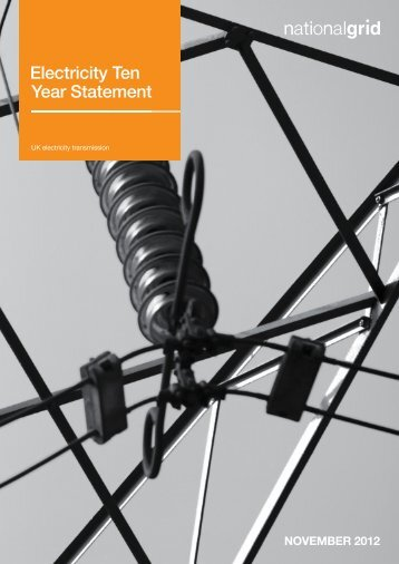 Electricity Ten Year Statement - National Grid