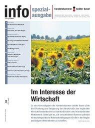 Info - Handelskammer beider Basel