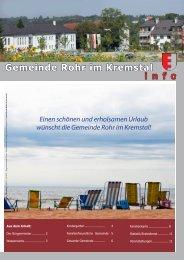 7,18 MB - Rohr im Kremstal - Land Oberösterreich