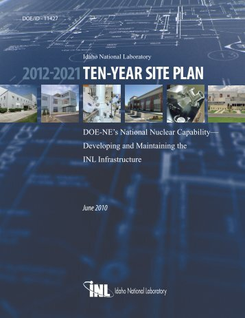 TEN-YEAR SITE PLAN - Office of Nuclear Energy - U.S. Department ...